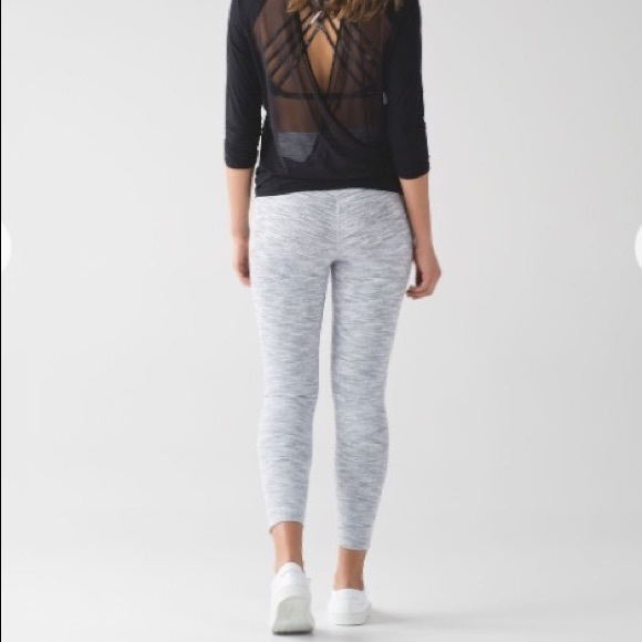 4a1ccaa044f61 lululemon athletica Pants - Lululemon Wee Are From Space Ice Grey Alpine